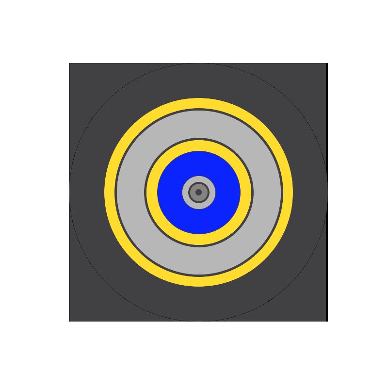 CABLE DROP CIRCULAR – 5.0 –  LSZH – DOBLE CUBIERTA