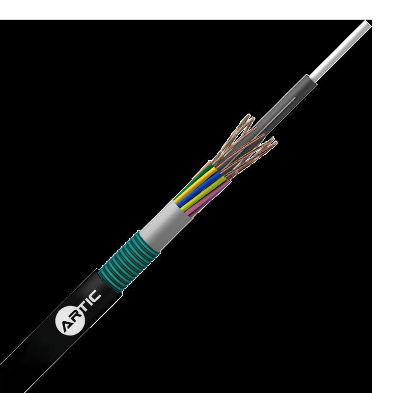 CABLE CUBIERTA SIMPLE 100% SECO – ARMADURA METÁLICA 12//288 FO G657A